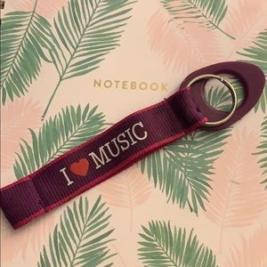 Accessories - I Love Music Keychain